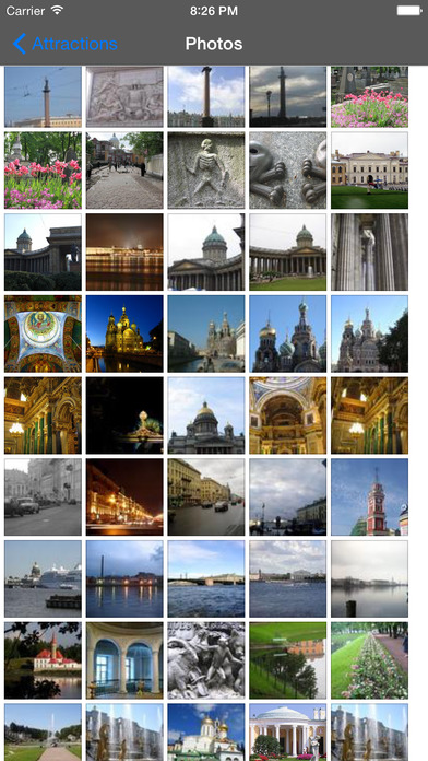 St Petersburg Travel Guide Offline iPhone Screenshot 2