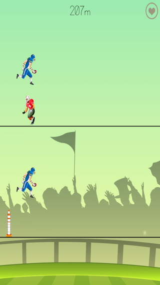 Pro Football Fun Run - A Soccer Player Challenge Free