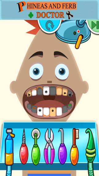 Game For Kids Phineas And Ferb Doctor Edition