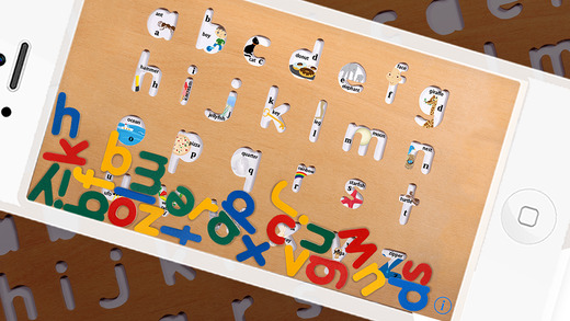 abc Puzzle Lowercase for iPhone