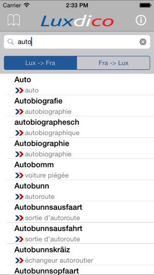 Luxdico iPhone Screenshot 1