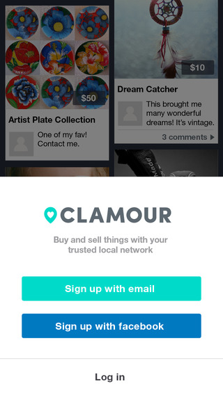 Clamour - The best place to Buy Sell Smile with people you trust. Unlock the value of your closet an