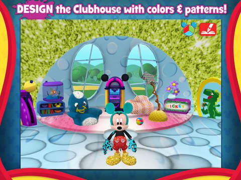 Screenshot #3 for Mickey Mouse Clubhouse - Color & Play