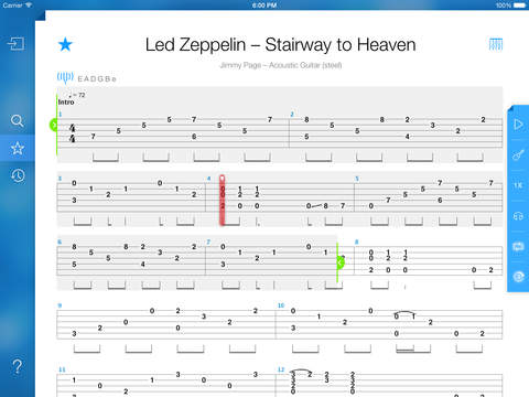 Stairway To Heaven Solo Tab Songsterr Photos Freezer And Stair