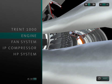 Rolls-Royce Trent 1000 Augmented Reality