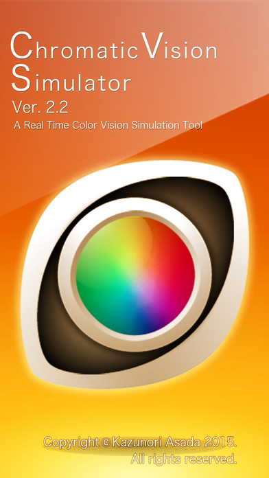 Chromatic Vision Simulator iPhone Screenshot 1