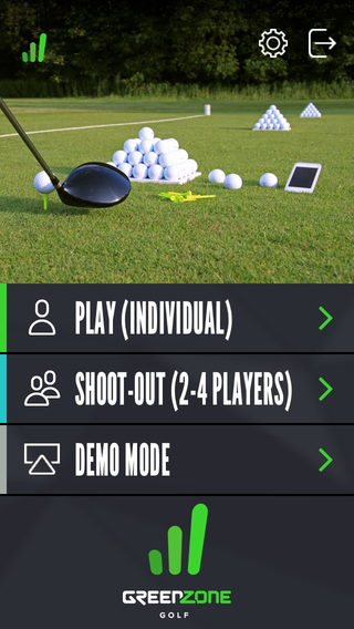 GreenZone Golf – Master your practice at any driving range