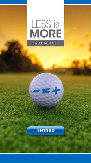 Less Is More Golf