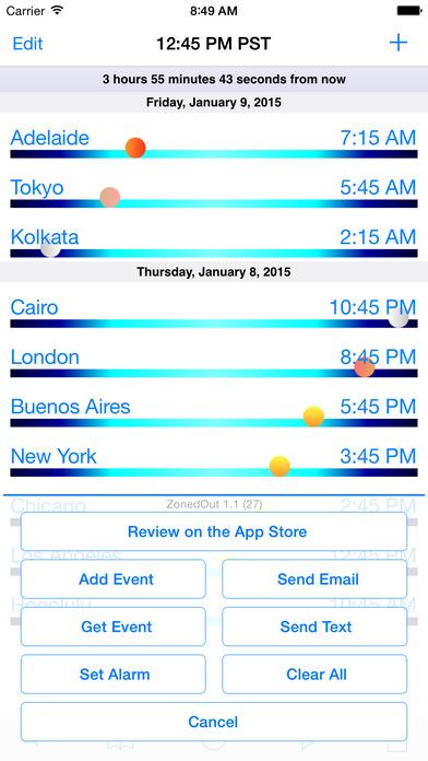 ZonedOut iPhone Screenshot 5