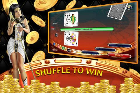 Blackjack 5 cards win
