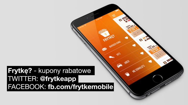 Kupony rabatowe promocje - Frytkę do McDonalds KFC Burger King UBER North Fish Subway Dominos Pizza