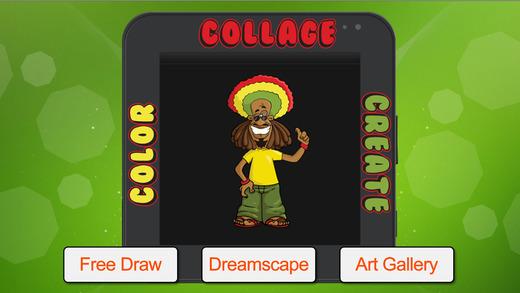 Color Collage Create