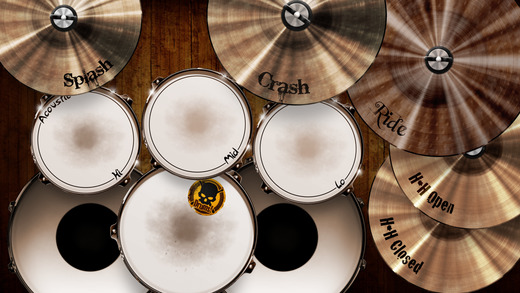 Drums - A studio quality drum kit in your pocket