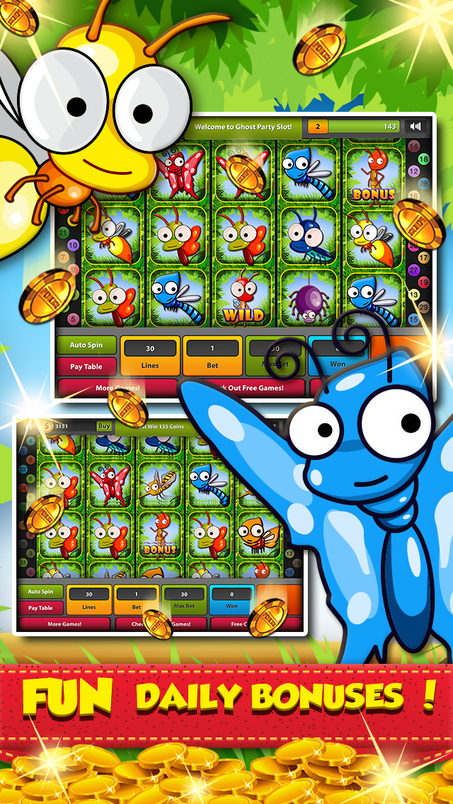 Bee Party Slot Machine - Free to Play Online Demo Game