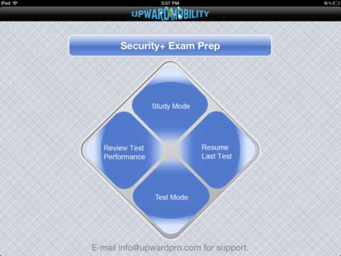 CompTIA Security+ SY0-201 Test Prep iPad Screenshot 1