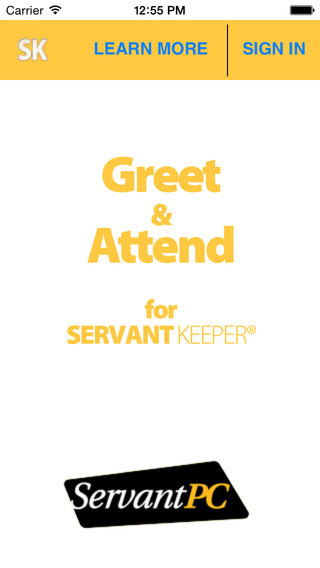 Greet and Attend for Servant Keeper