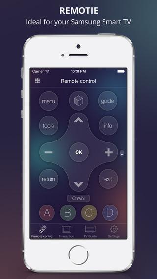 Remotie: remote keyboard for Samsung Smart TV