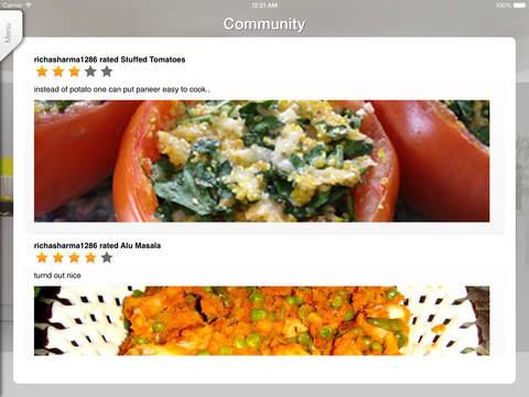Sweet'N'Spicy Indian Recipes iPad Screenshot 2