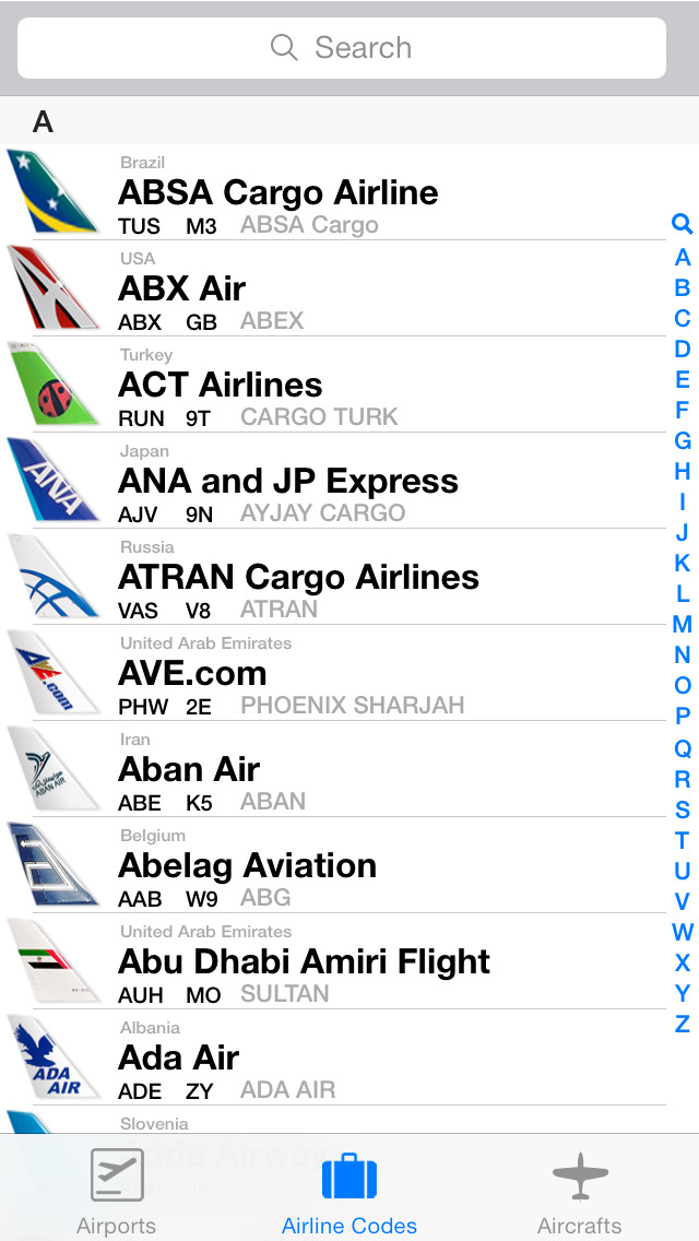Airport.Codes (ios)