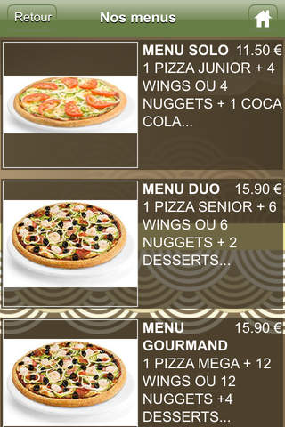 Pizza Delice screenshot 3