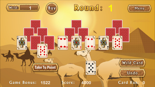 Egyptian Pyramid Solitaire PRO - For PRO Poker Players
