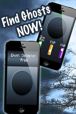 Ghost Detector Free - The Free Paranormal Scanner app screenshot