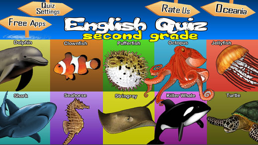Animals Learn English - Second Grade