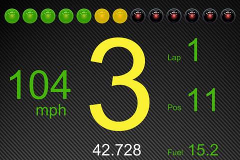 iphone pCars Dash Screenshot 3