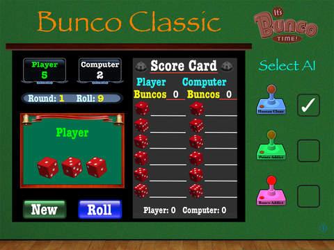 Bunco Classic for iPad