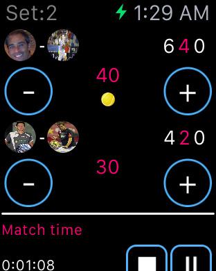 Padel Scores Screenshots