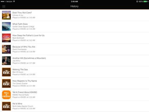 KNVBC Radio for iPad iPad Screenshot 4
