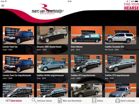 Find Your Hearse for iPad