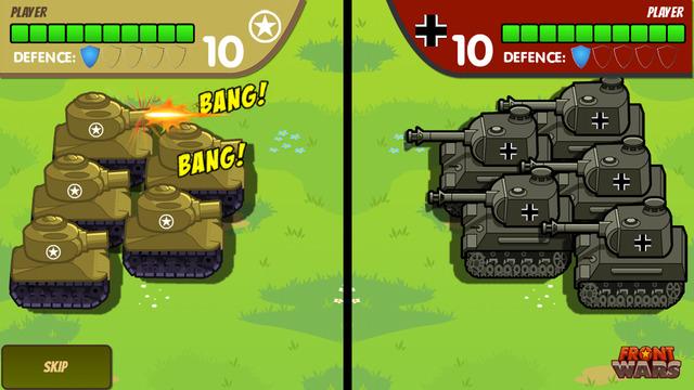 Front Wars : World War II Turn-Based Strategy Screenshots