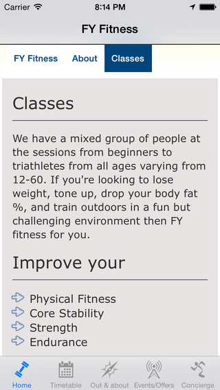 FY Fitness: Personal Trainer