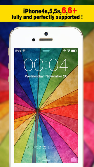Magic Screen Pro - Wallpapers Backgrounds Maker with Cool HD Themes for iOS8 iPhone6