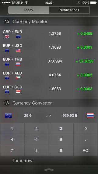 Currency Converter Monitor