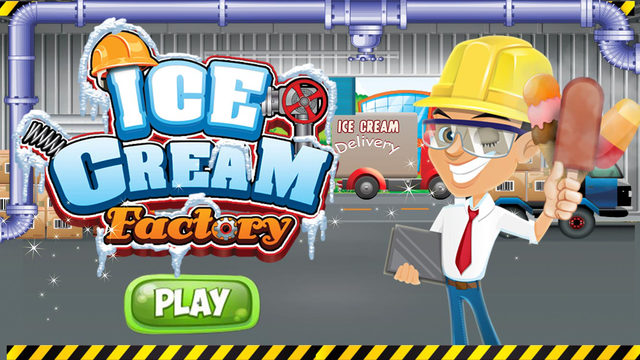 Ice Cream Factory – Make frozen creamy dessert in this chef cooking kitchen game for kids
