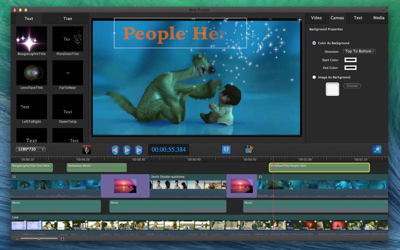 Movie Edit Pro - Merge Video Image Screenshot - 3