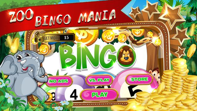 "Animals World in The Zoo Bingo "" Pop Fantasy Planet Casino bash Vegas Edition """