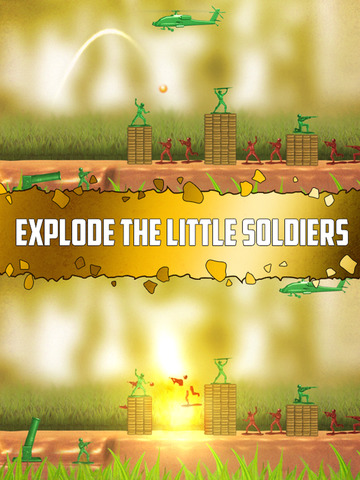 Toy Wars Gold Edition: The Story of Army Heroes. Скрин 2