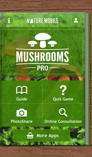 Mushrooms LITE - NATURE MOBILE - For Safe Enjoyment