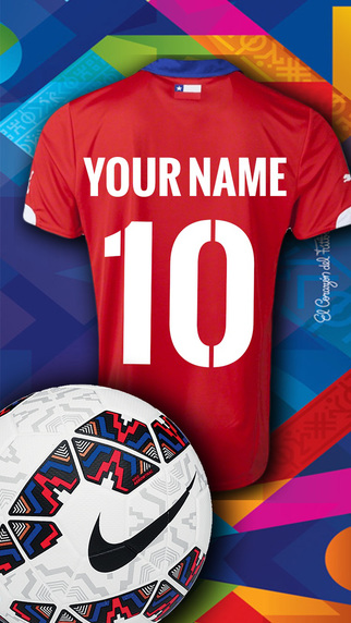 Football Jersey Maker for Cup America Played in Clile in 2015