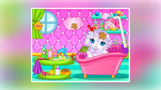 """中的""""可爱宠物猫洗澡"""""""