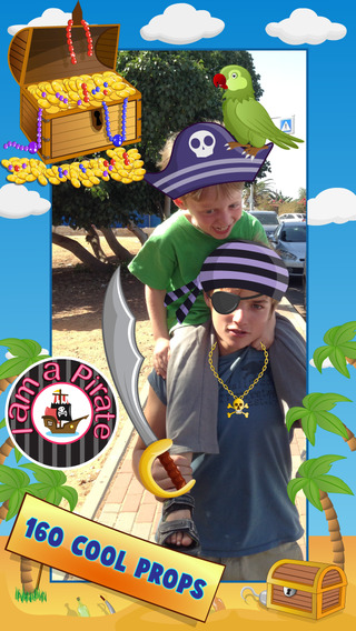 A Cool Guy Photo Booth Editor - Camera pictures game with funny props