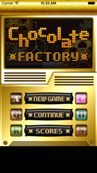 Chocolate Factory iPhone Screenshot 1
