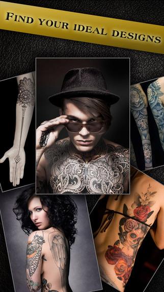 Tattoo Text Pro - Photo Editor to add tattoo on body art inked artist fonts on pic