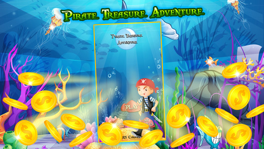 Pirate Treasure Adventure - Match-3 Fishs Puzzle Game for Kids