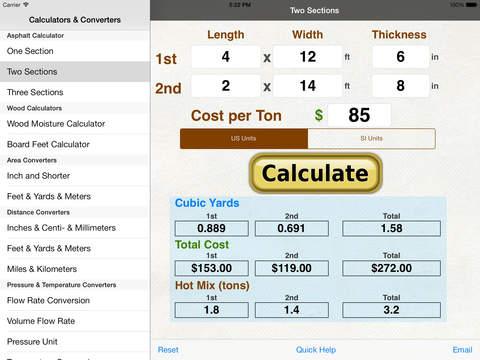 Wood Equilibrium Moisture Content Calculator iPad Screenshot 2