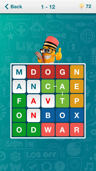 Worders PRO - word search game. Find words and fill in the entire field