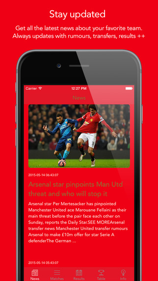 Go Arsenal — News rumors matches results stats